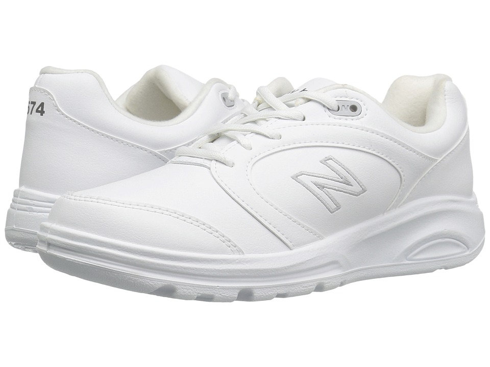 New Balance - WW674 (White) Women's Walking Shoes