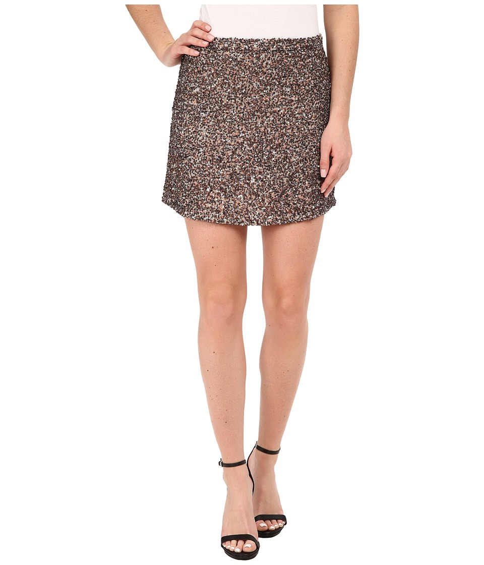 Billabong - Showin Off Skirt (Rose Gold Multi) Women