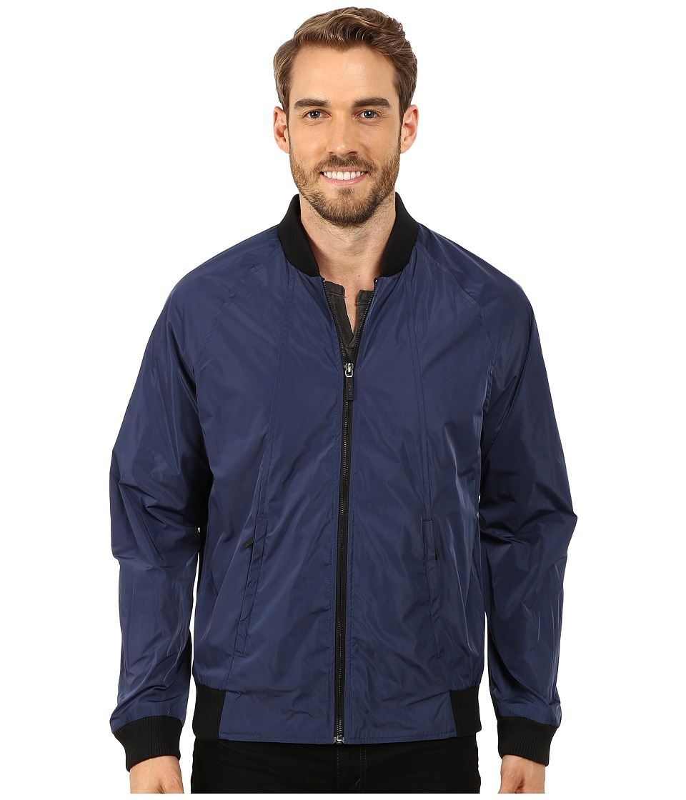 DKNY Jeans - Raglan Bomber Jacket (Lapis Blue) Men's Coat