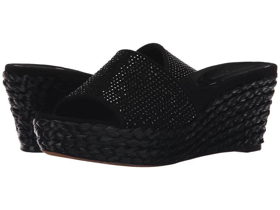 Donald J Pliner - Frida SP (Black Kid Suede) Women's Shoes