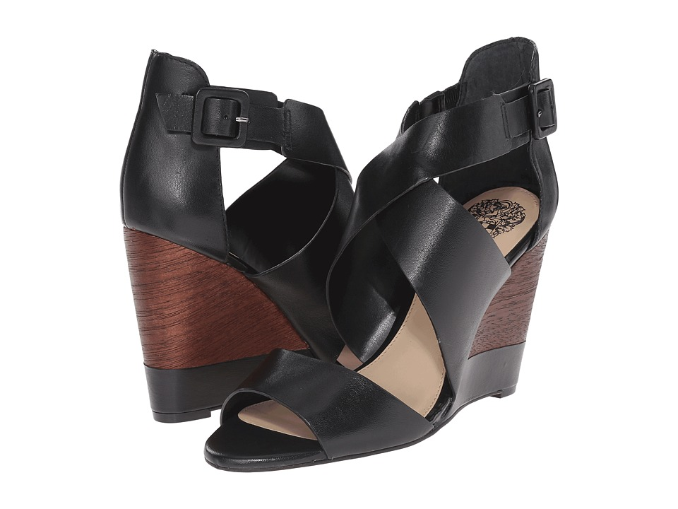 Vince Camuto - Milena (Black) Women's Wedge Shoes
