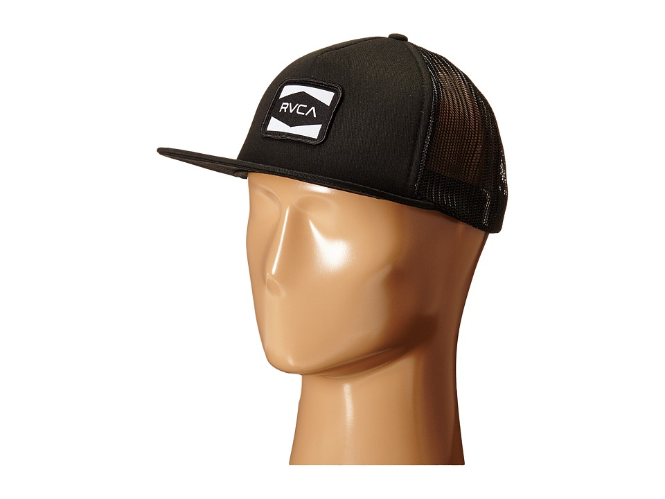 RVCA - Injector Trucker (Black) Caps