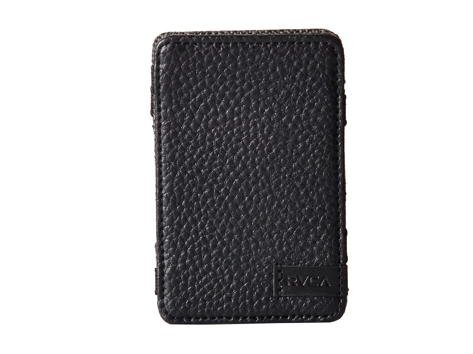 RVCA - Magic Wallet Select (Black) Bill-fold Wallet