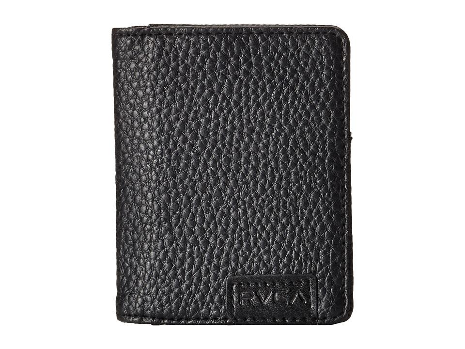 RVCA - Commodore Wallet (Black) Bill-fold Wallet