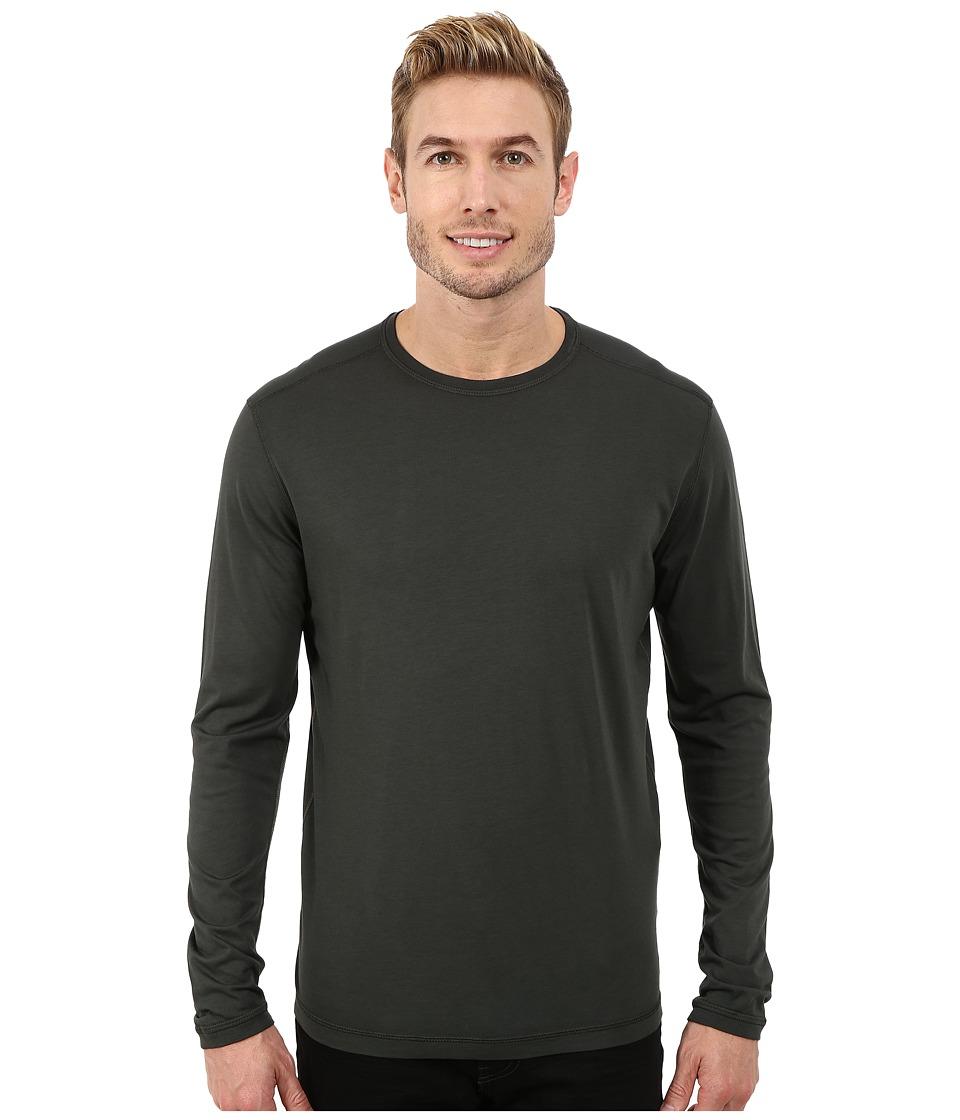 Agave Denim - Long Sleeve Crew Supma/Modal Blend (Rosin) Men's Long Sleeve Pullover