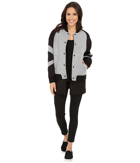 Rebecca Minkoff - Nas Jacket (Charcoal/Black) Women's Coat