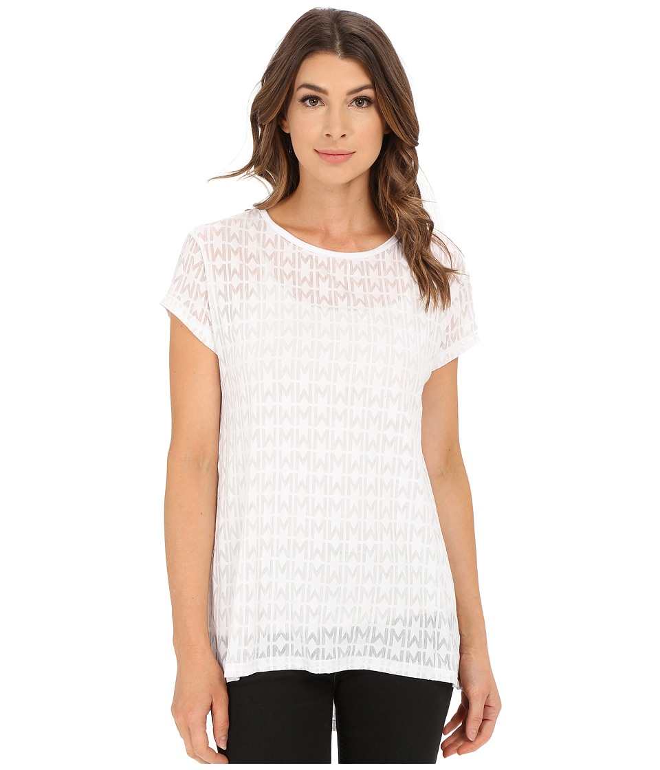 Rebecca Minkoff - Tyga T-Shirt (White) Women's Blouse