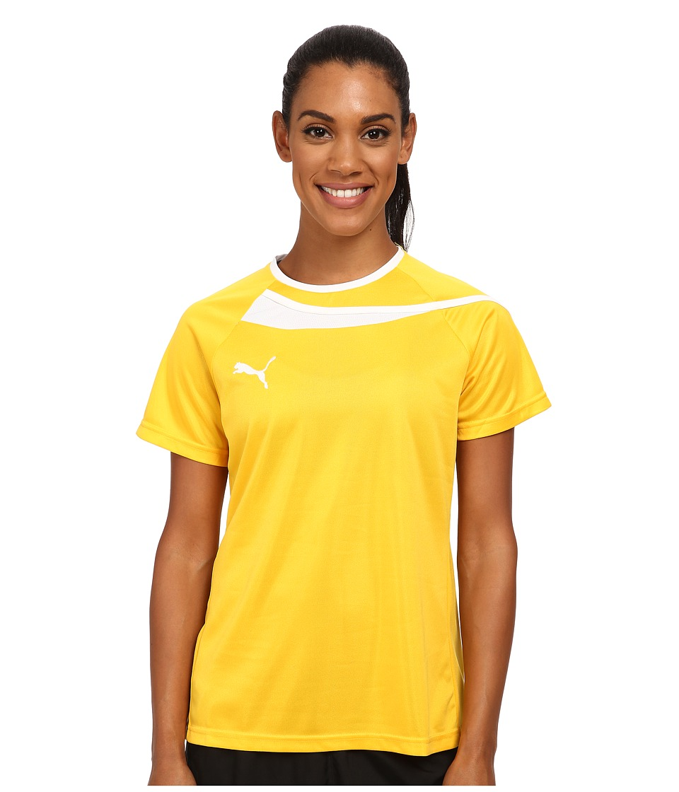 PUMA - Pulse Jersey (Team Yellow/White) Women's Clothing