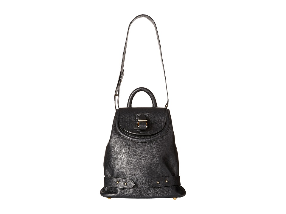 meli melo - Mini Backpack (Black Calf) Backpack Bags