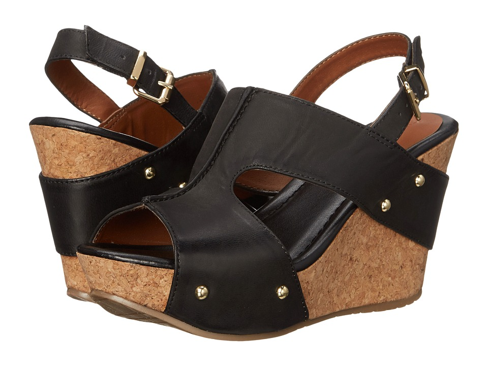 Kenneth Cole Reaction - Sole-O (Black) Women's Wedge Shoes