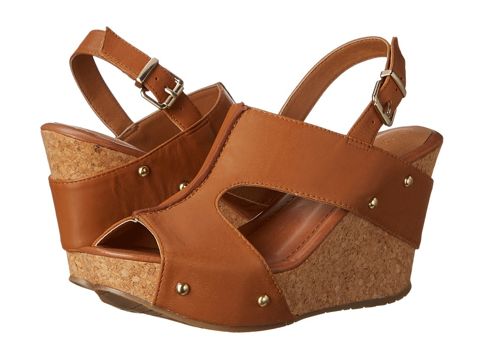 Kenneth Cole Reaction - Sole-O (Toffee) Women's Wedge Shoes