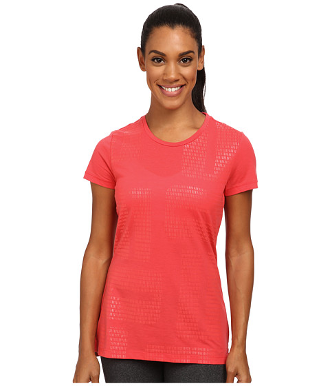 PUMA - Logo Graphic Tee (Geranium) Women's T Shirt