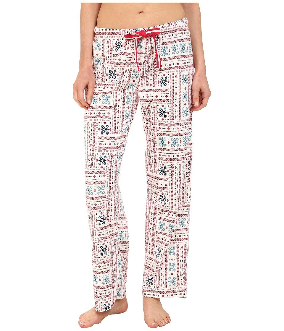Jockey - Fairisle Print Pants (Modern Fairisle) Women