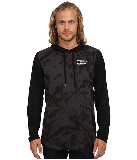 Vans - Milner Shirt (New Charcoal Spider Wash) Men's Sweatshirt