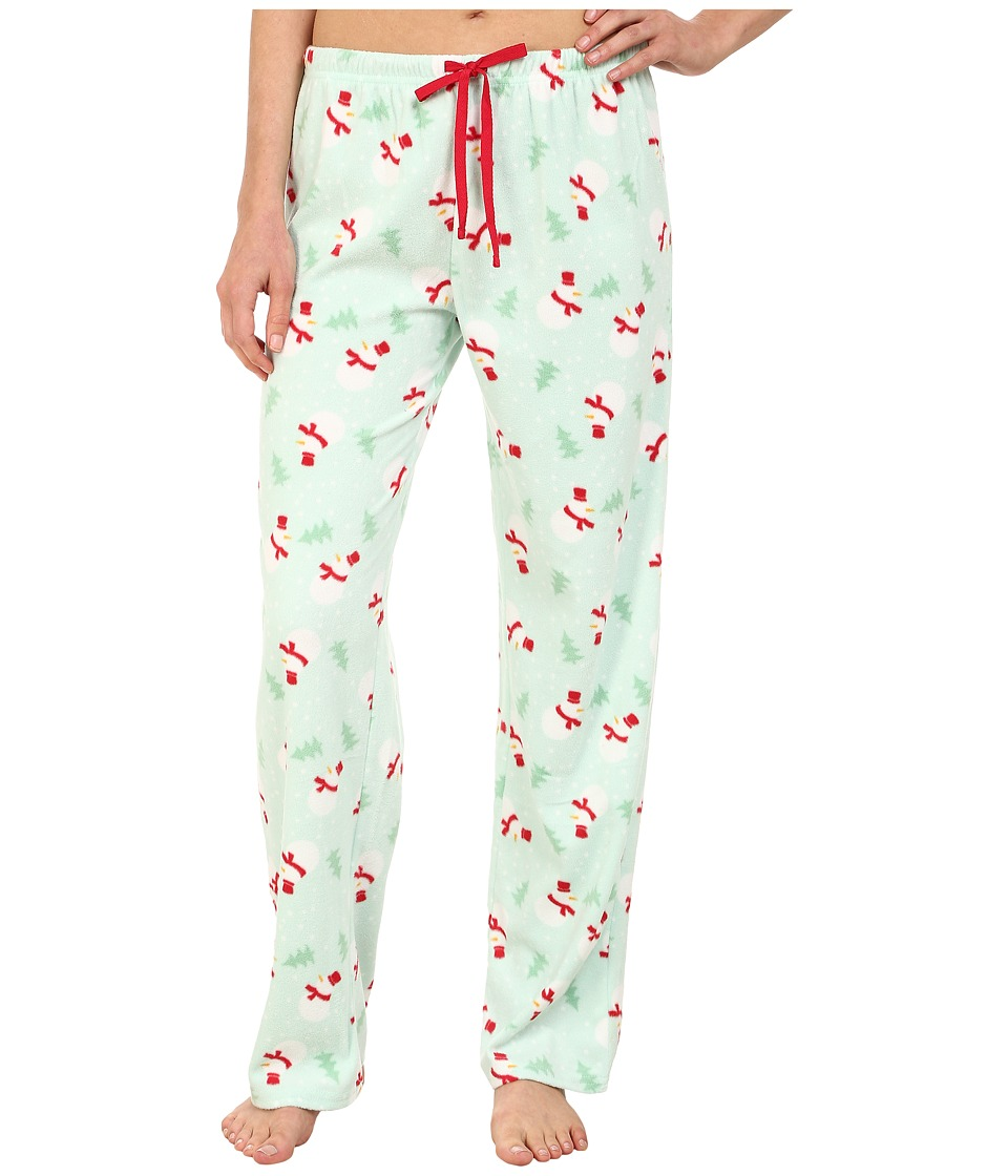 Jockey - Microfleece Pants (Snowmen) Women's Pajama