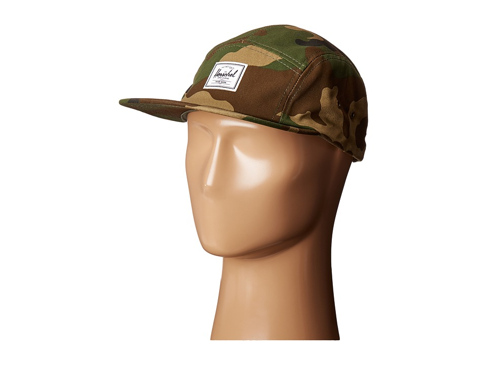 Herschel Supply Co. - Glendale Classic (Woodland Camo) Caps