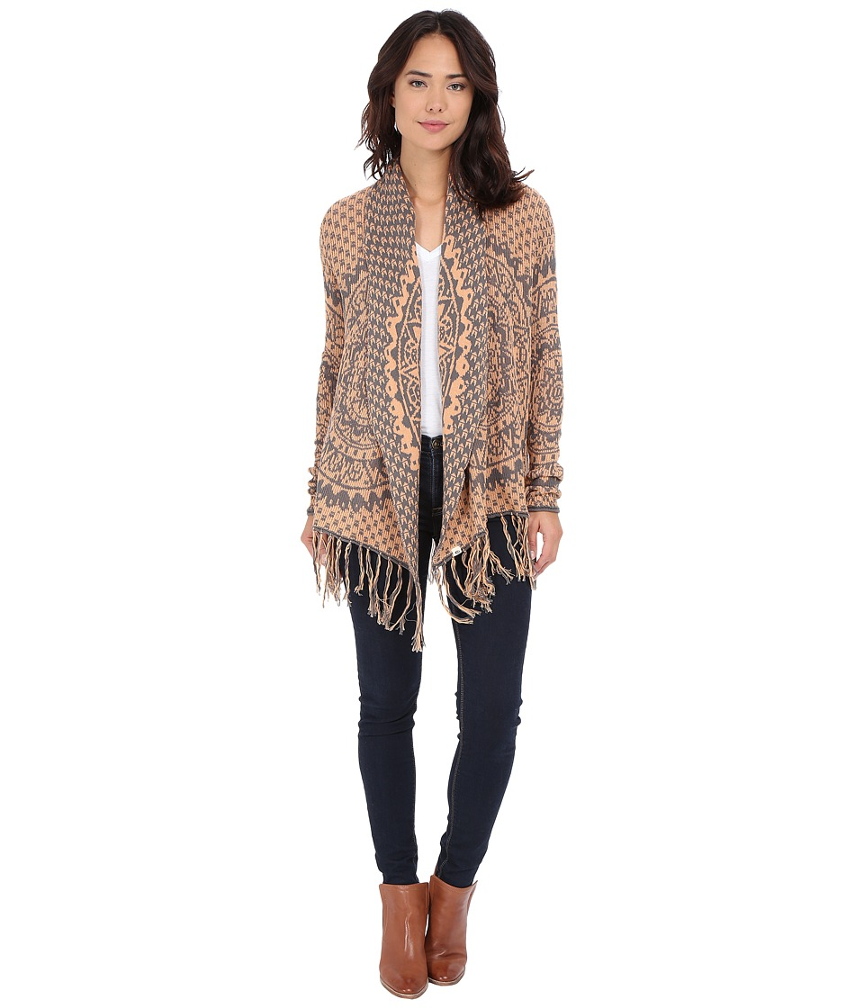 Rip Curl - Celestial Cardigan (Rust) Women's Sweater