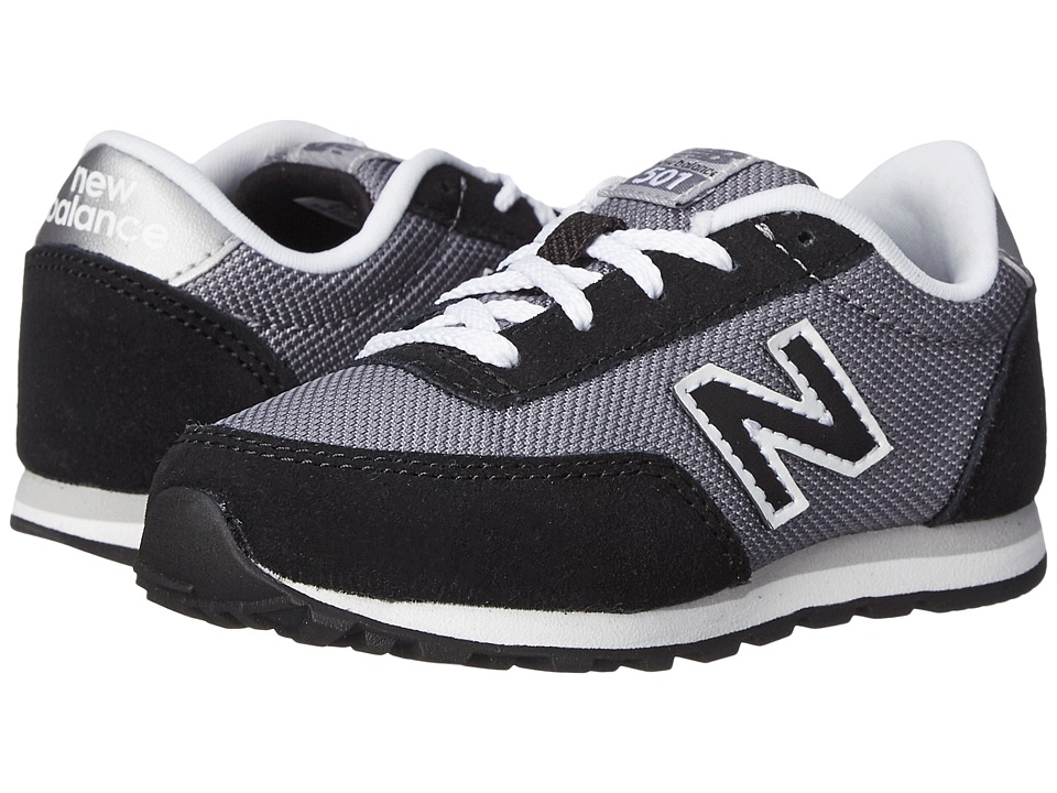 New Balance Kids - KL501 (Infant/Toddler) (Black/Grey) Boys Shoes
