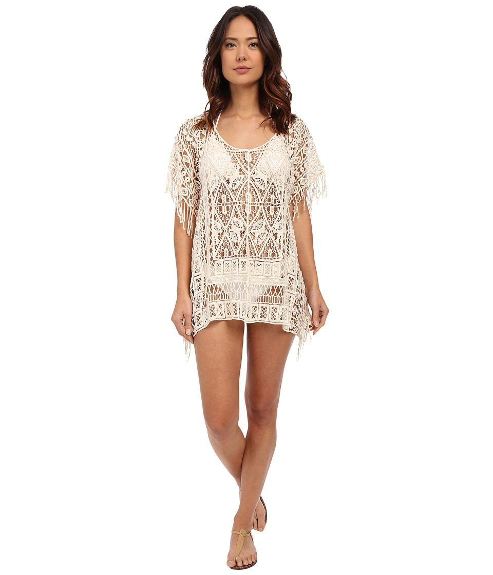 L*Space - Simone Poncho Cover-Up (Natural) Women's Swimwear