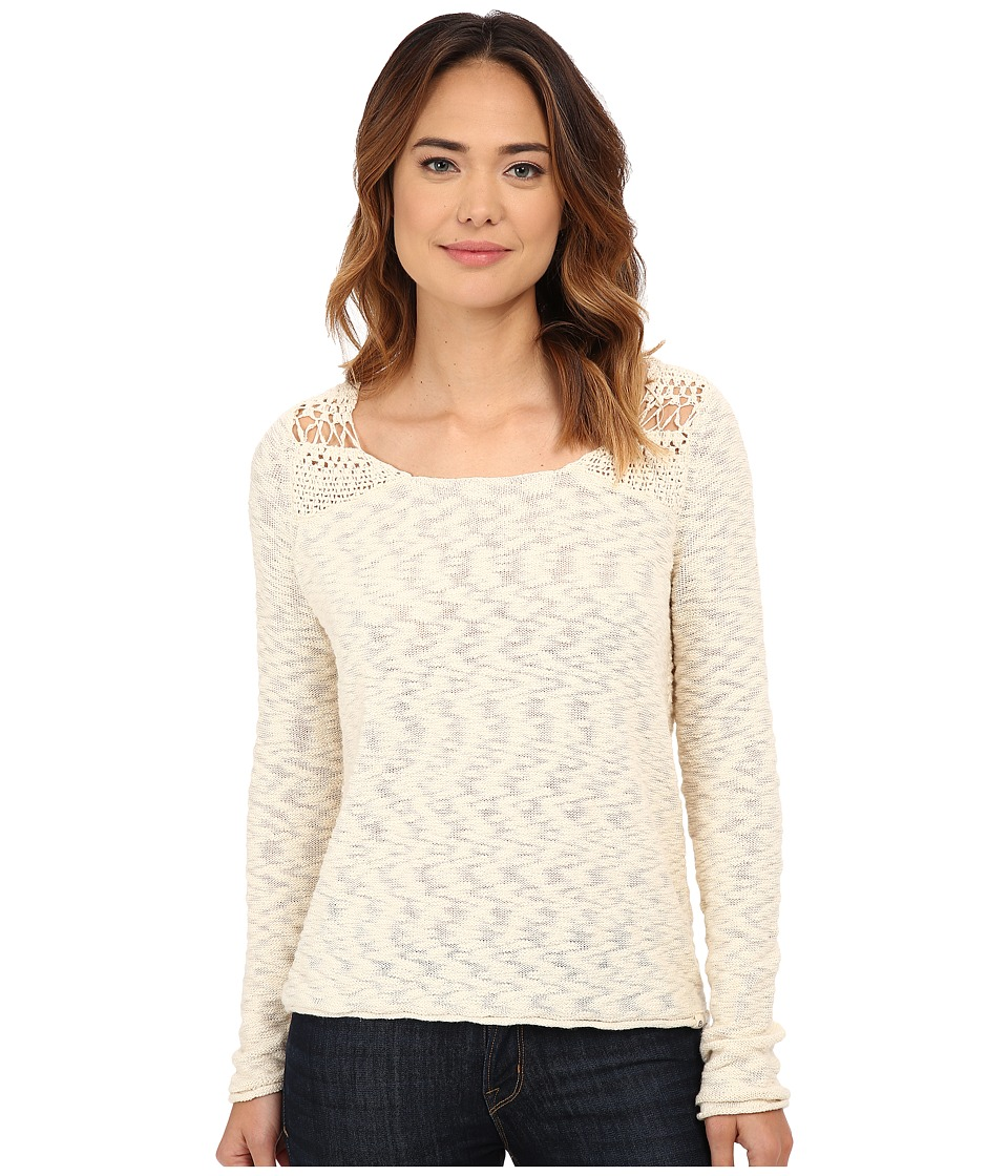 Rip Curl - Carefree Pullover (Whitecap Grey) Women's Long Sleeve Pullover