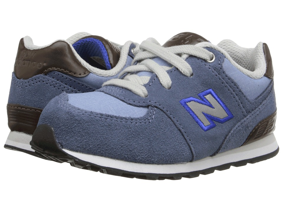 New Balance Kids KL574 (Infant/Toddler) (Blue Bell/ Blue Fin) Boys Shoes
