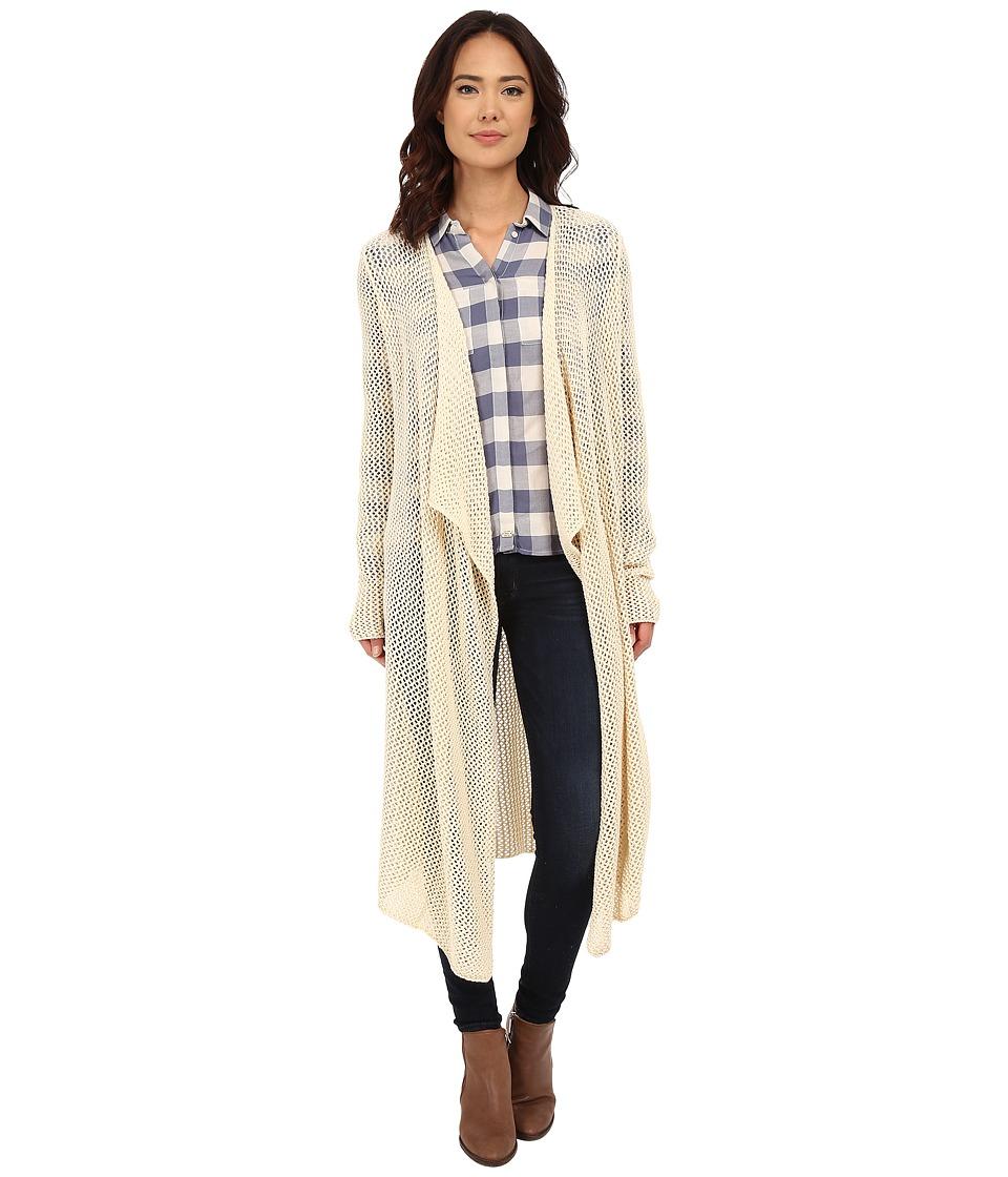 Rip Curl - Wild One Duster (Whitecap Grey) Women's Sweater