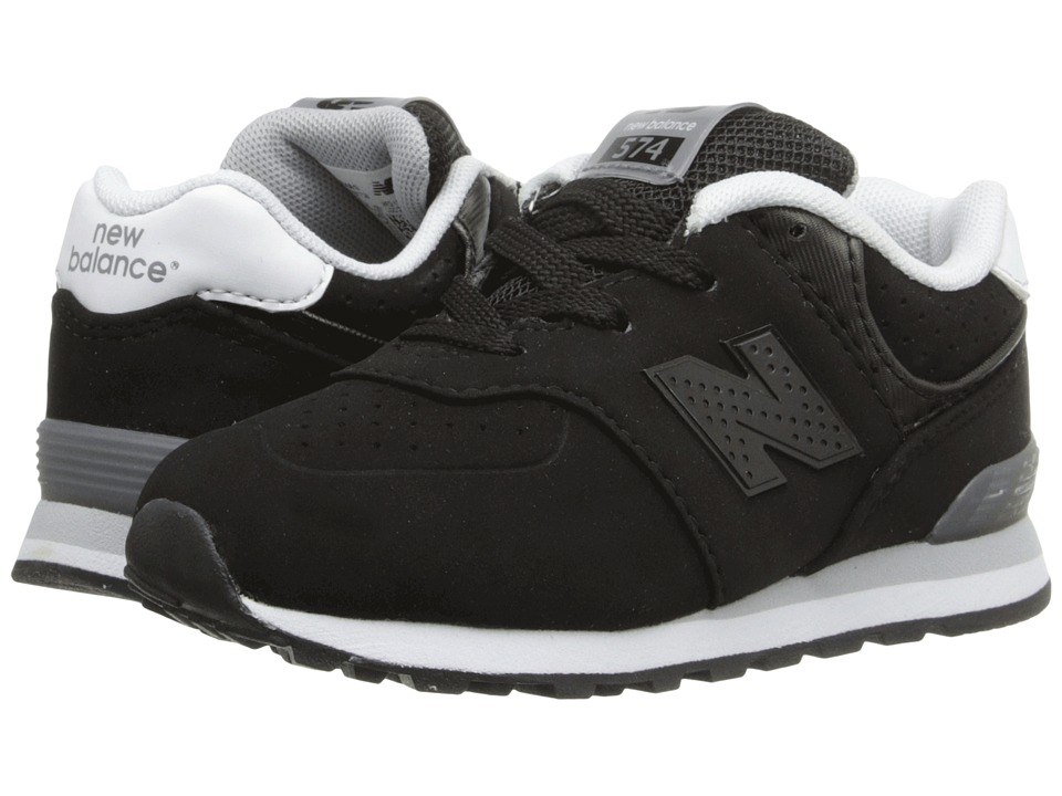 New Balance Kids - KL574 (Infant/Toddler) (Black) Boys Shoes