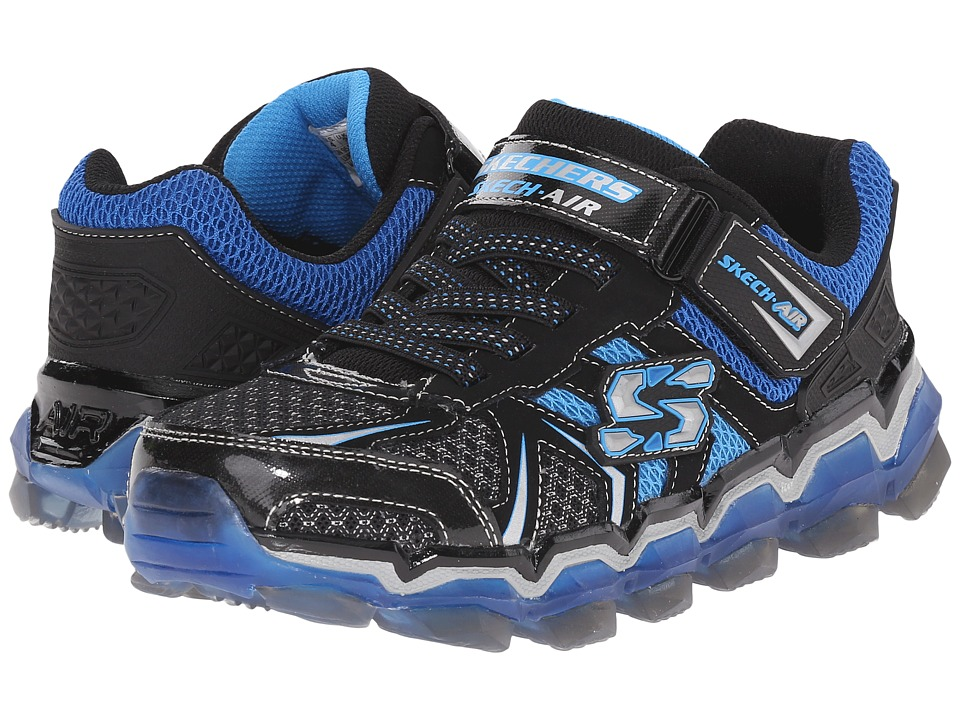 SKECHERS KIDS - Skech Air 2.0 95140L (Little Kid/Big Kid) (Black/Royal) Boy's Shoes