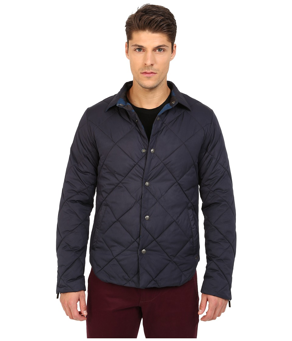 Scotch & Soda - Reversible Padded Nylon Jacket (Night) Men's Coat