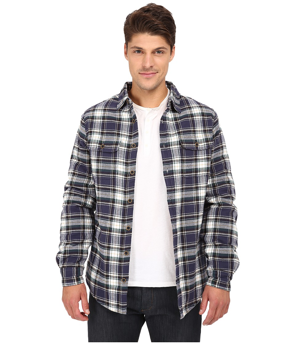J.A.C.H.S. - Flannel Sherpa (Navy) Men's Coat