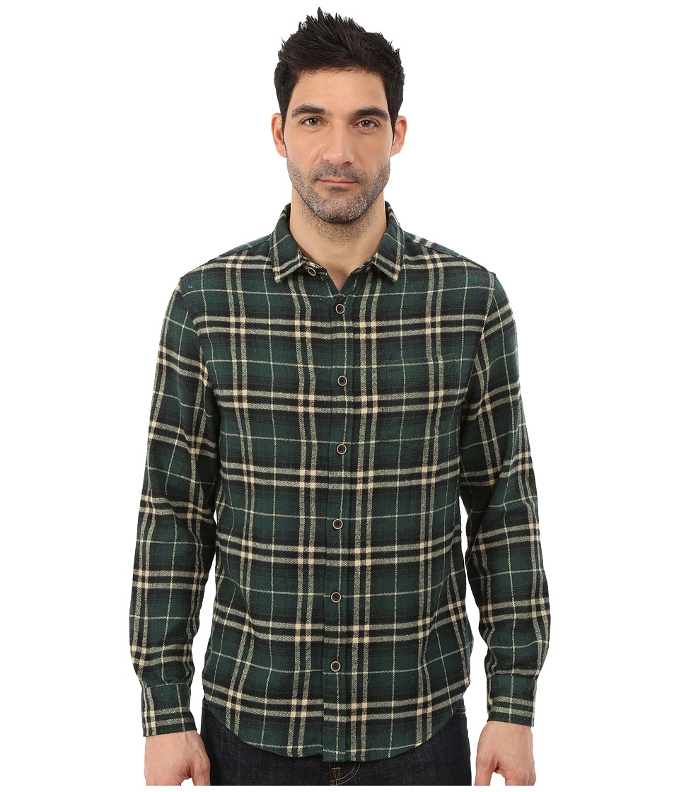 J.A.C.H.S. - Single Pocket Shirt (Green 4) Men's Clothing