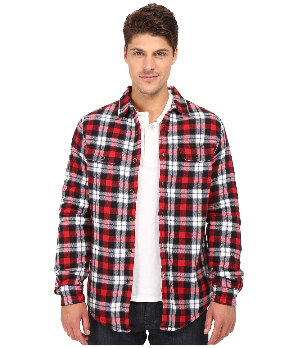 J.A.C.H.S. - Flannel Sherpa (Red) Men