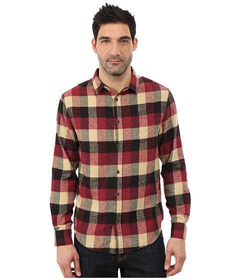 J.A.C.H.S. - Single Pocket Shirt (Burgundy 1) Men