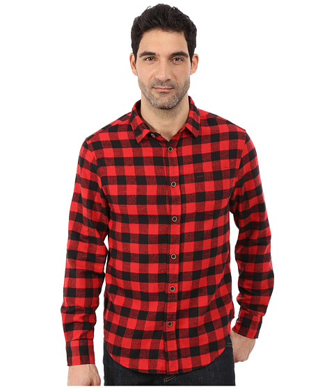 J.A.C.H.S. - Single Pocket Shirt (Red 3) Men's Clothing