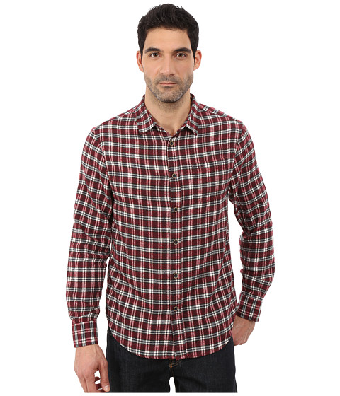 J.A.C.H.S. - Single Pocket Shirt (Burgundy) Men's Clothing