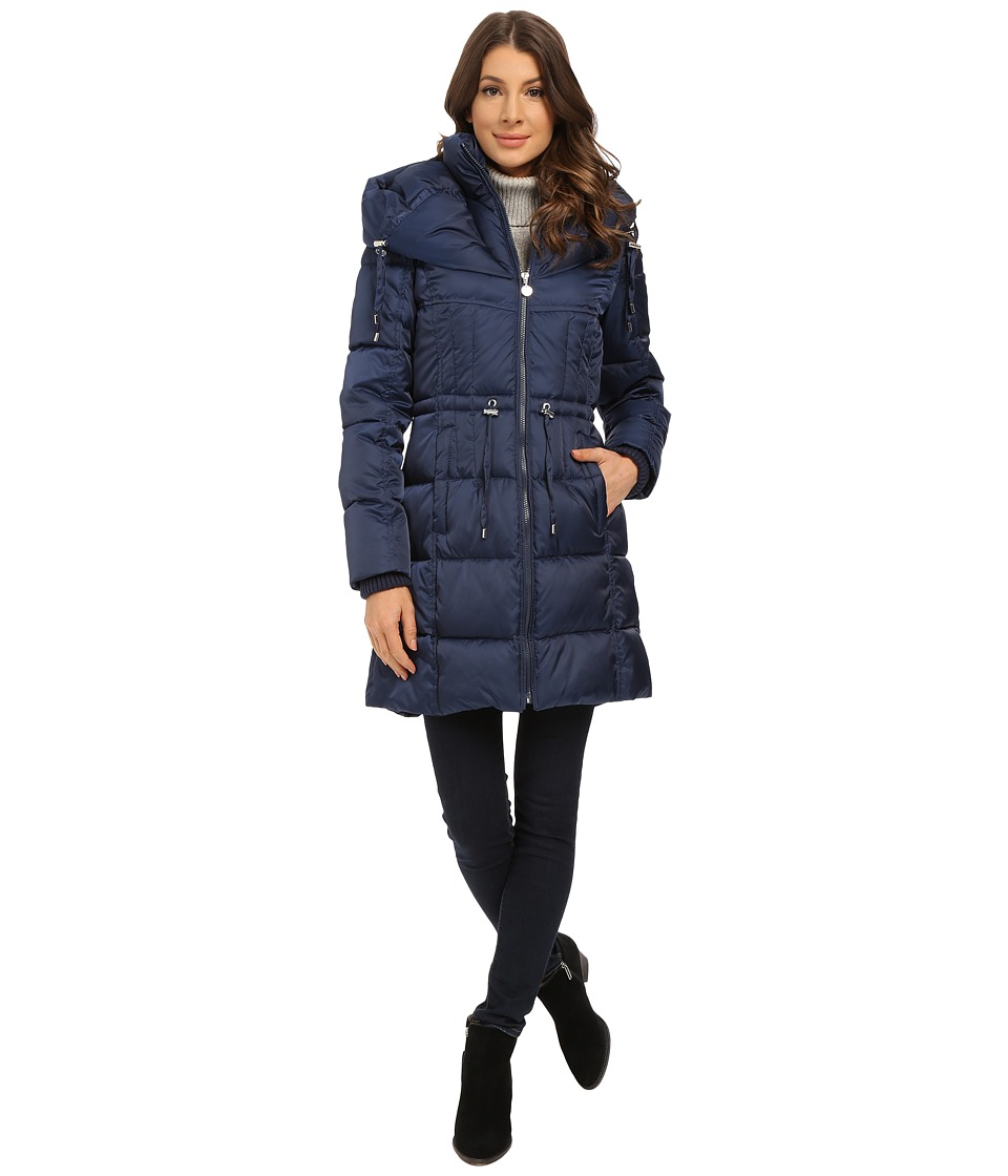 Betsey Johnson - Puffer Anorak (Marine Navy) Women's Coat