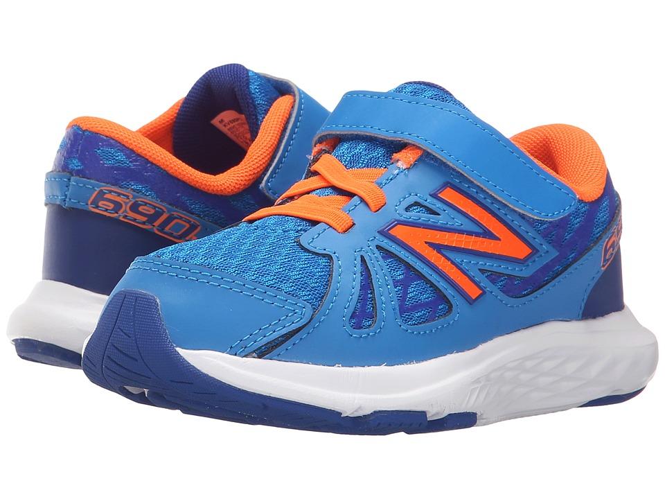 New Balance Kids - 690v4 (Infant/Toddler) (Blue/Orange) Boys Shoes