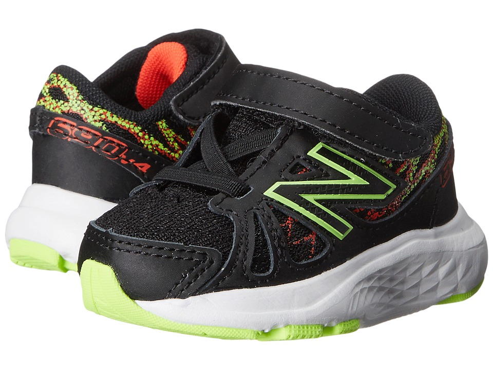 New Balance Kids 690v4 (Infant/Toddler) (Black/Green) Boys Shoes