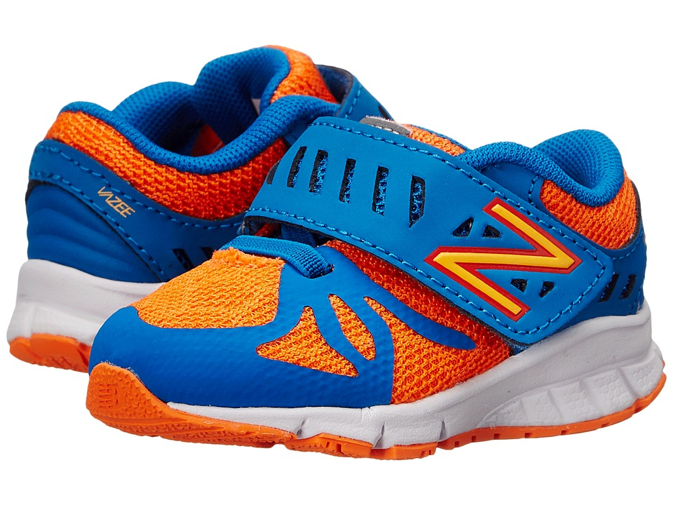 New Balance Kids - Vazee Rush (Infant/Toddler) (Orange/Blue) Boys Shoes