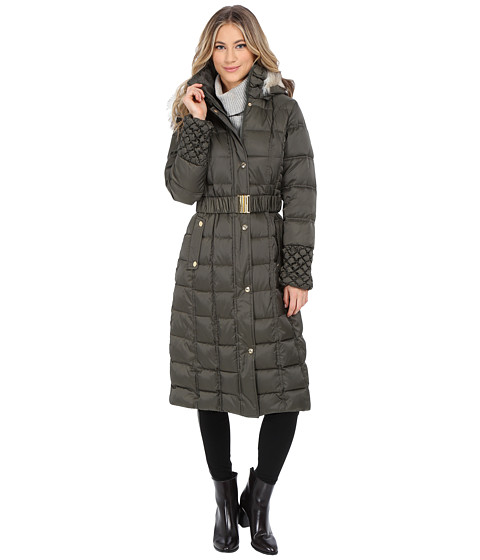Betsey Johnson - Maxi Puffer (Forest Green) Women's Dress