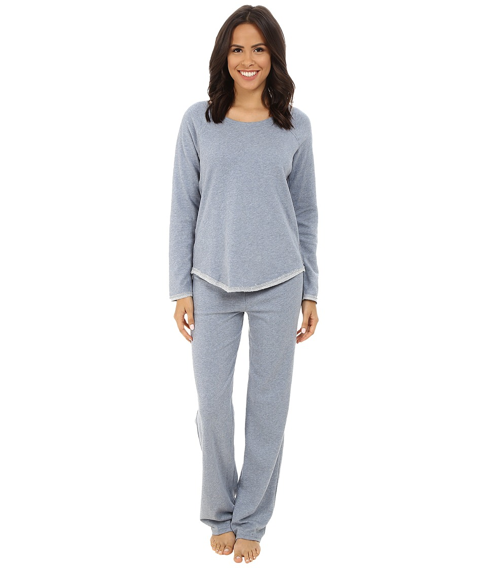 Splendid - Cozy Lounge Set (Blue Chambray) Women