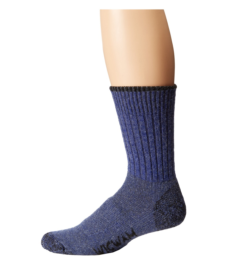 Wigwam - All Weather Single Pack (Blue Heather) Crew Cut Socks Shoes