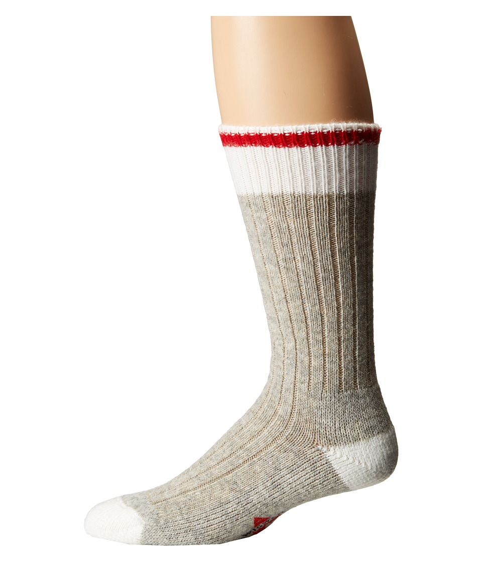 Wigwam - Hudson Bay Single Pack (Red) Crew Cut Socks Shoes