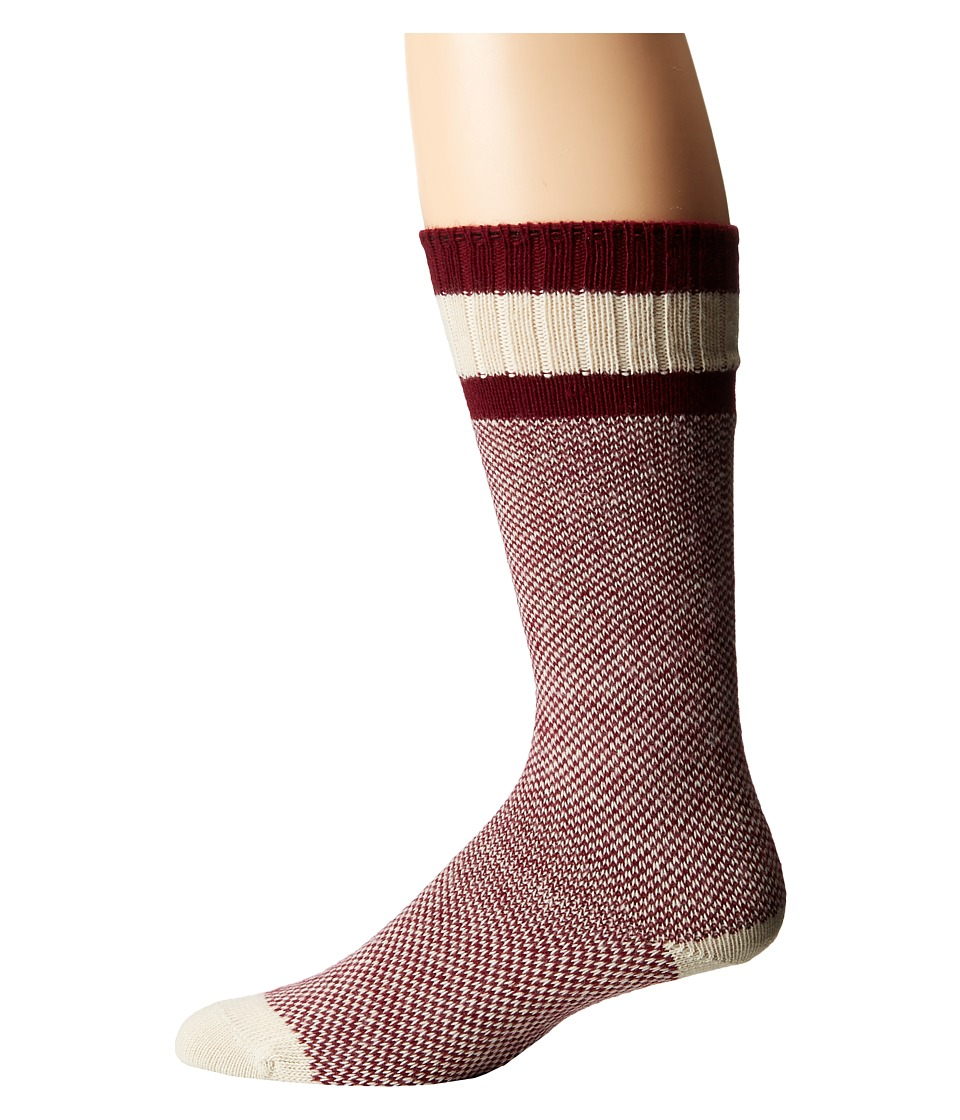 Wigwam - Whippersnapper Single Pack (Burgundy) Crew Cut Socks Shoes