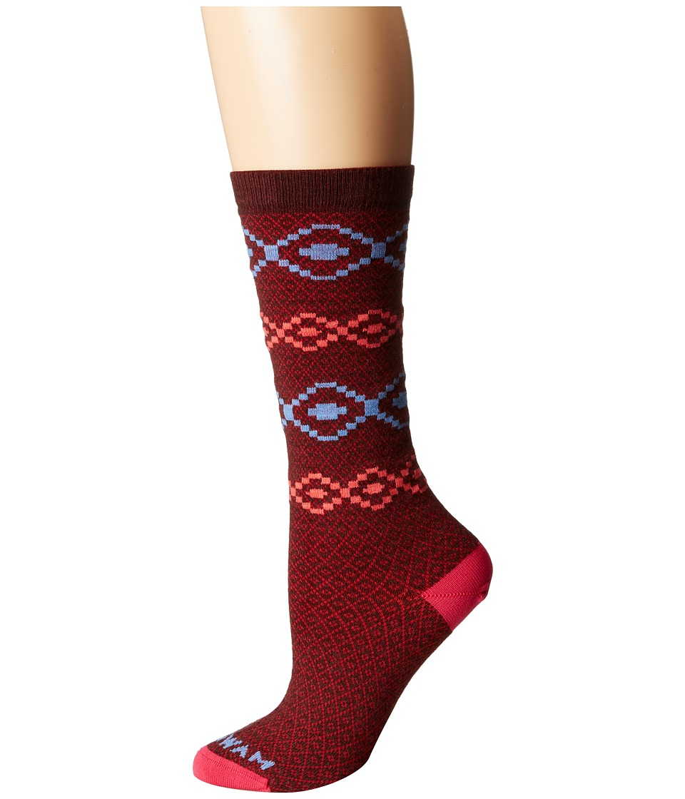 Wigwam - Misella Single Pack (Merlot) Women's Crew Cut Socks Shoes