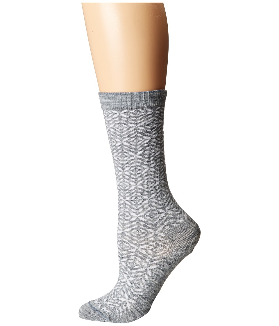 Wigwam - Tik Tak Single Pack (Grey Heather) Women's Crew Cut Socks Shoes
