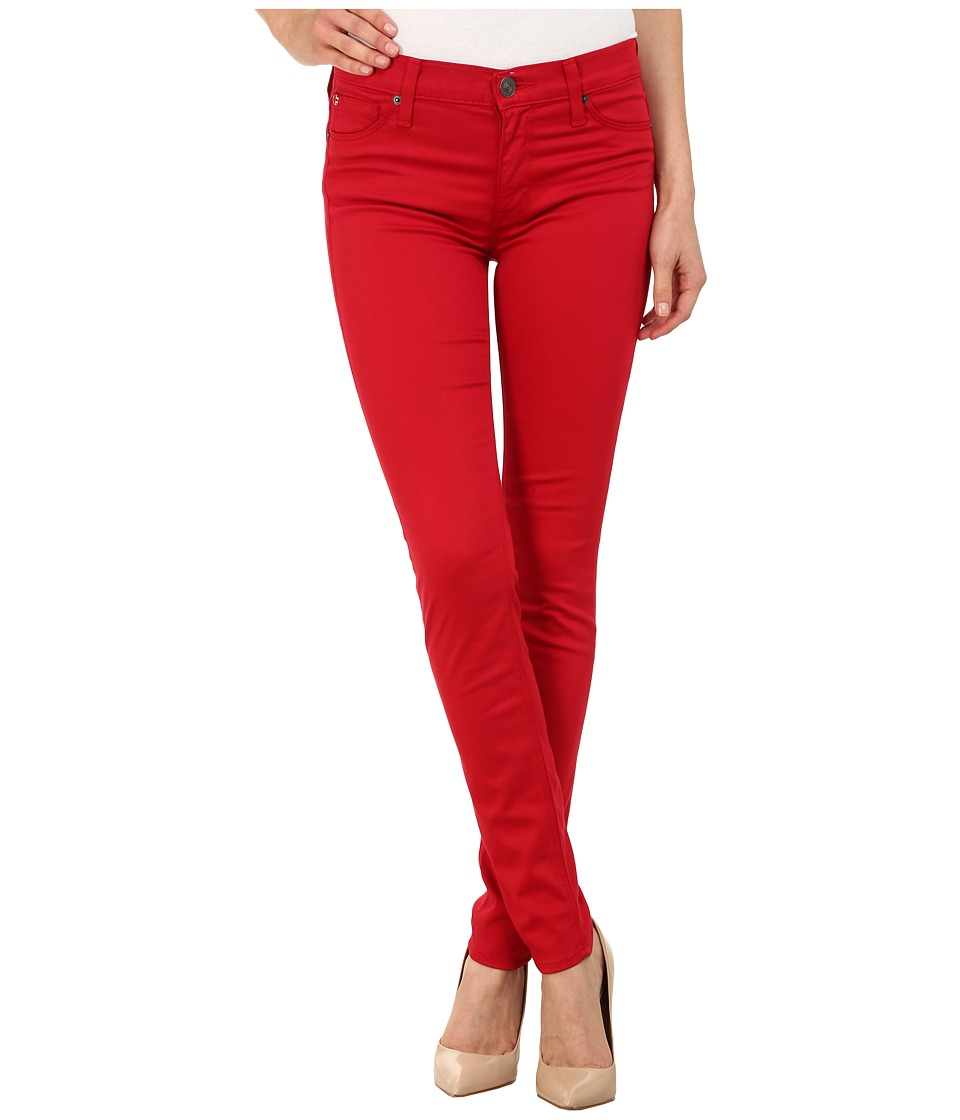 Hudson - Nico Mid-Rise Super Skinny in California Ruby (California Ruby) Women's Jeans