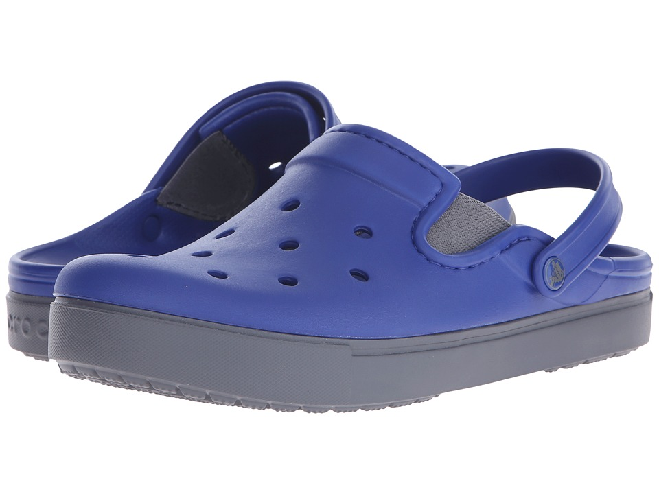 Crocs - CitiLane Clog (Cerulean Blue/Charcoal) Clog Shoes