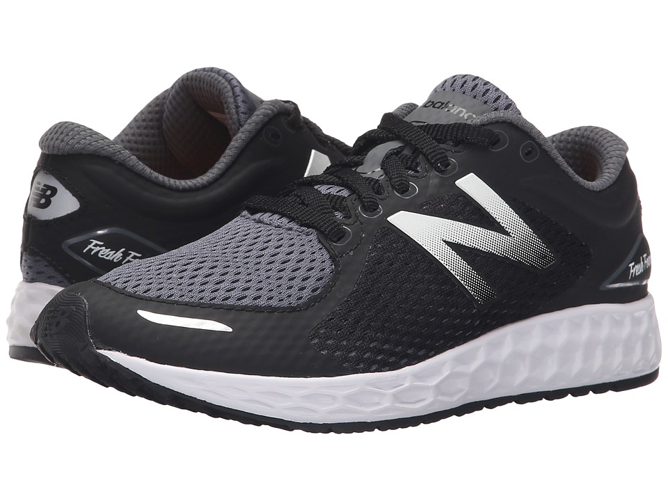 New Balance Kids KJZNT (Little Kid/Big Kid) (Black/White) Boys Shoes