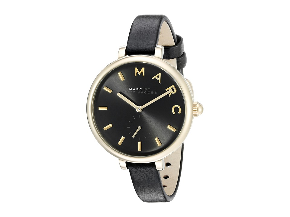 Marc by Marc Jacobs - MJ1416 - Sally Leather (Black) Watches